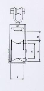 Trawel Habging Block